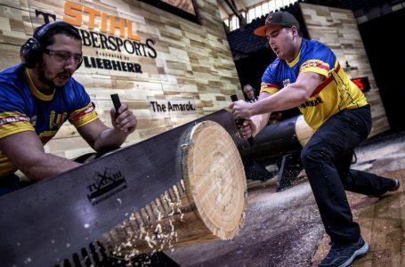 România la Campionatul Mondial al Tăietorilor de Lemne
