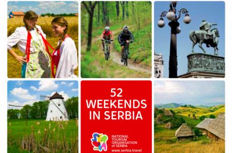 Autoritatea de Turism a Serbiei propune 52 de weekenduri în Serbia