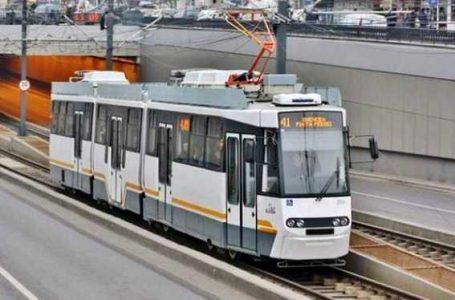 Va fi reluata circulatia tramvaiului 41, doar pe un singur fir